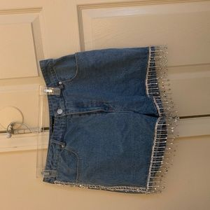 Shorts with Fringes